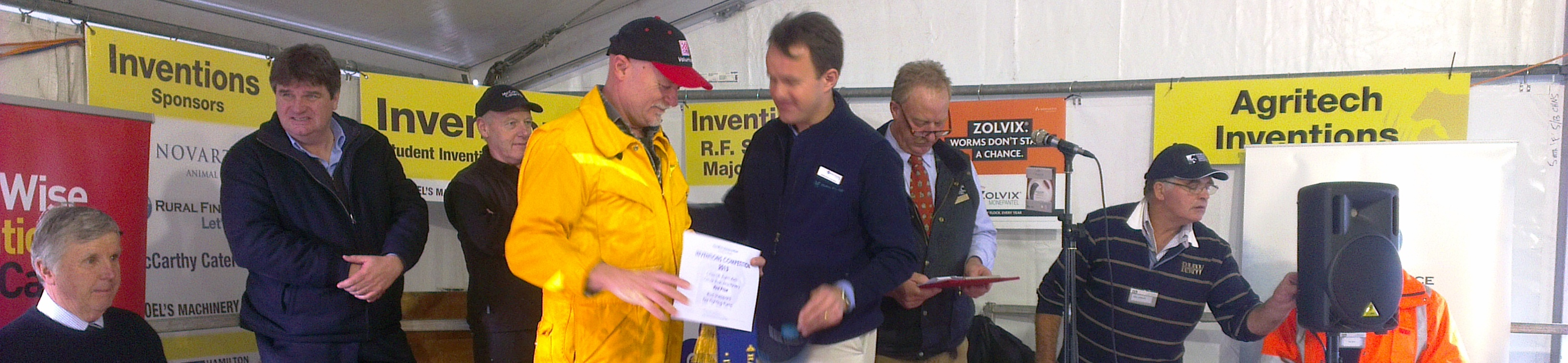 "Winner of Sheepvention ""Pump Defenda"""
