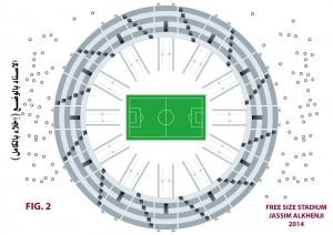 Entry to Free Size Stadium