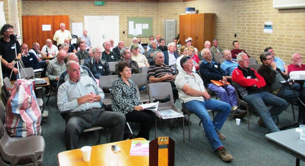 March 2014 meeting audience